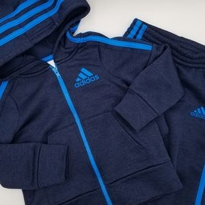 Adidas Fleece Lined Track Suit 2T
